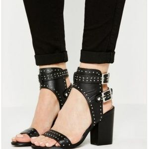 Missguided Studded Heeled Sandal